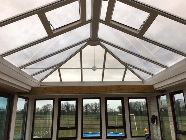 New lantern roof 3
