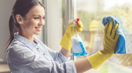Cleaning Windows And Doors