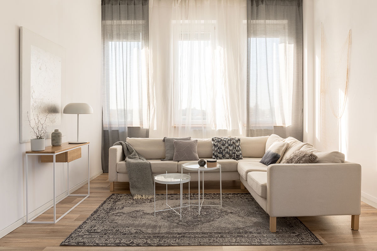 how to make a small room look bigger and brighter  colne